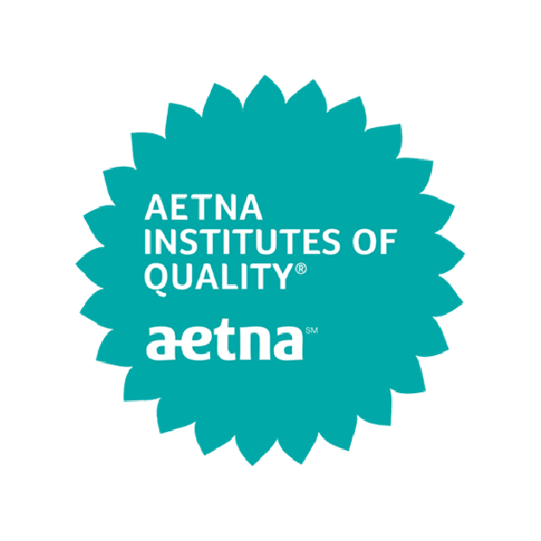 Aetna Institutes of Quality seal