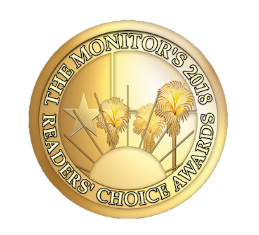 The Monitor's Reader's Choice seal